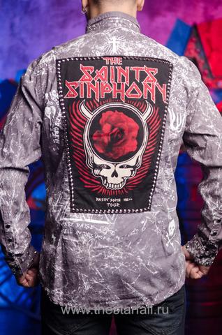 Рубашка The Saints Sinphony с оригинальным принтом
