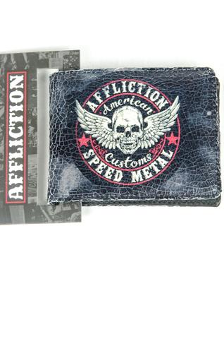 Affliction   Портмоне Speed Metal A11188 перед