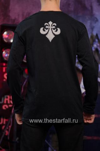 Affliction   Мужская футболка лонгслив A225578 спина