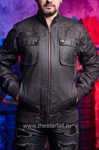 Куртка Affliction A1753 перед на модели