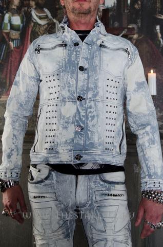 Куртка мужская джинсовая The Saints Sinphony TSJ008 перед