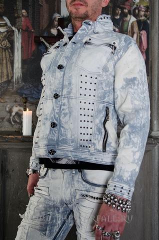 Куртка мужская джинсовая The Saints Sinphony TSJ008 левый бок