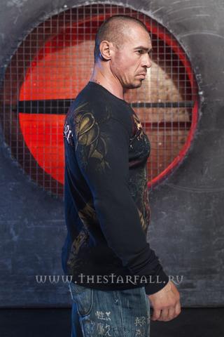 Remetee   Пуловер мужской RM133 от Affliction правый бок