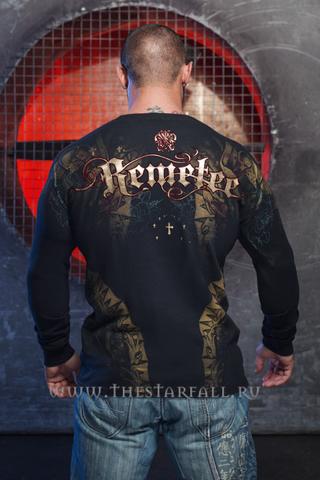 Remetee   Пуловер мужской RM133 от Affliction стиль мексика спина