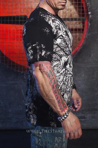 Xtreme Couture | Футболка мужская Offering Black X170 от Affliction правый бок