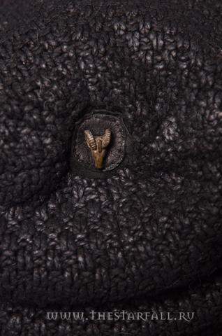 Шапка Antonio Barragan Demon Riff AB05 сверху металлическая заклепка голова барана