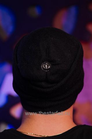 Шапка Involvement от 7.17 Studio Luxury с кожаным черепом верх