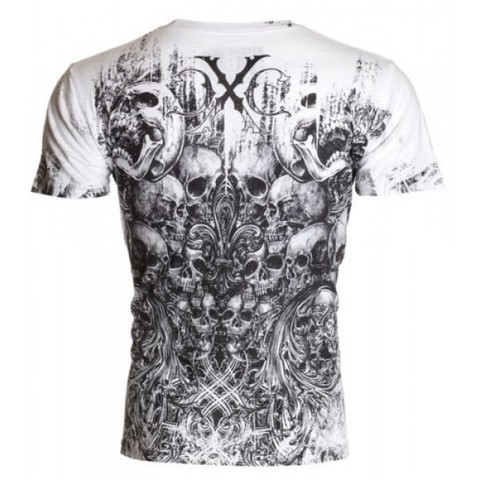 Xtreme Couture   Футболка мужская Offering White X170W от Affliction спина