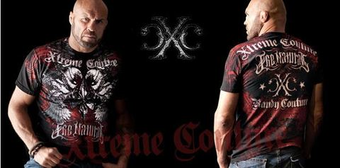 Xtreme Couture | Футболка мужская Osiris in Red/Black X535 от Affliction Randy