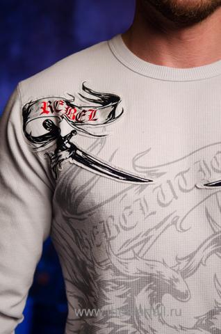 Пуловер Rebel Spirit TH111123 передний принт
