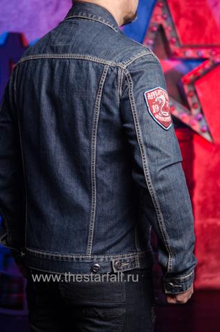 Джинсовая куртка Affliction A3882 правый бок