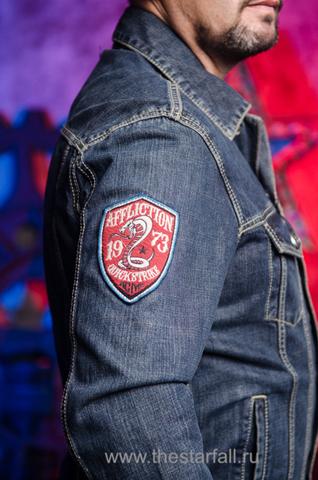 Джинсовая куртка Affliction A3882 правый рукав
