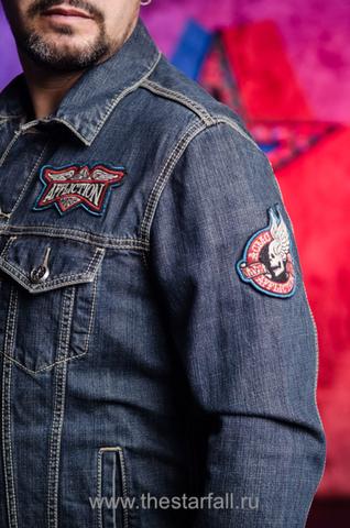 Джинсовая куртка Affliction A3882 левый рукав