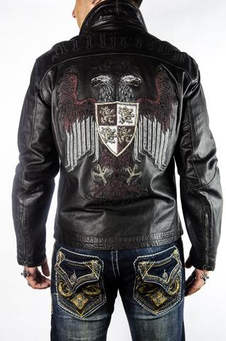 Куртка кожаная Affliction 1732