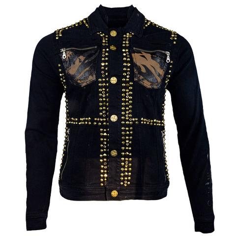 Куртка джинсовая The Saints Sinphony J068 TIGER JACKET BLACK