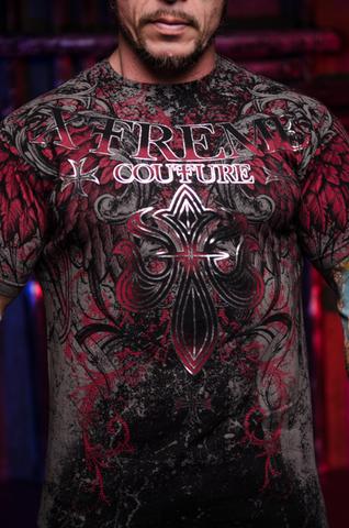 Футболка BOLD CIPHER Xtreme Couture от Affliction принт спереди