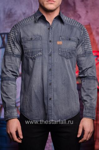 Affliction | Рубашка мужская HELL BOUND 110WV710 перед