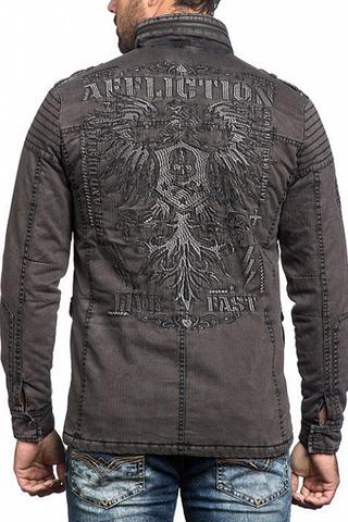 Куртка Affliction WINDOW PANE 110OW243 спина