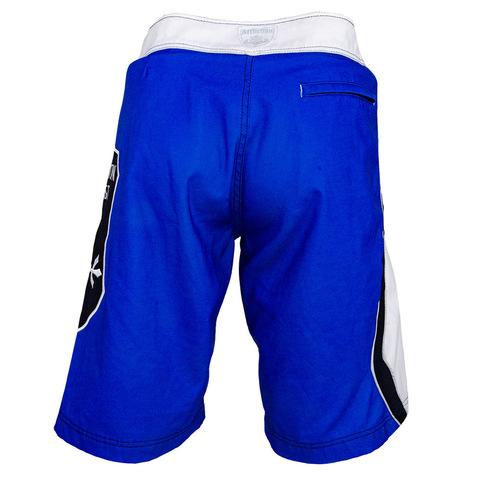 Affliction | Шорты мужские A36224 синие сзади