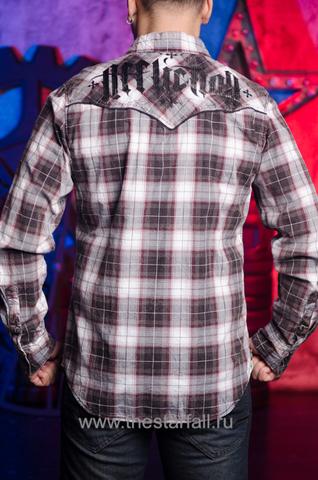 Affliction | Рубашка мужская A252 спина