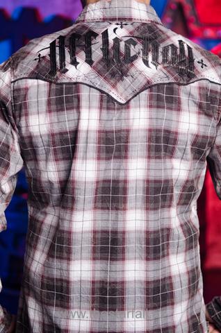 Affliction | Рубашка мужская A252 вышивка на спине