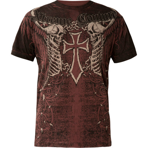 Футболка AFTERSHOCK BURGUNDY Xtreme Couture от Affliction