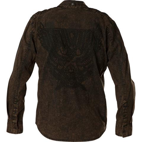 Рубашка Affliction  Replica in Black/Brown