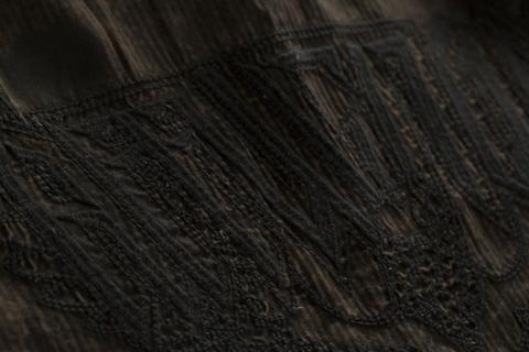 Affliction | Рубашка мужская Replica in Black/Brown 110WV716 вышивка на спине