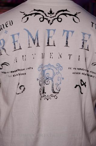 Футболка Remetee RM2234118 принт на спине