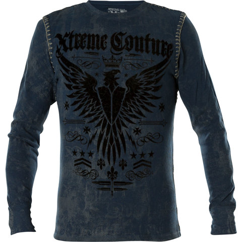 Пуловер Intensity Thermal in Blue Xtreme Couture от Affliction