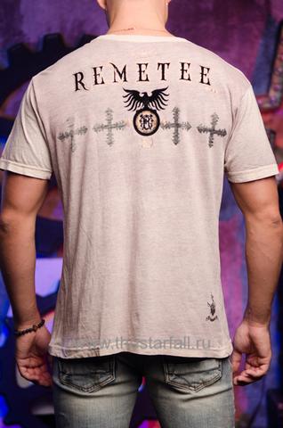 Футболка Remetee by Affliction RM163 спина