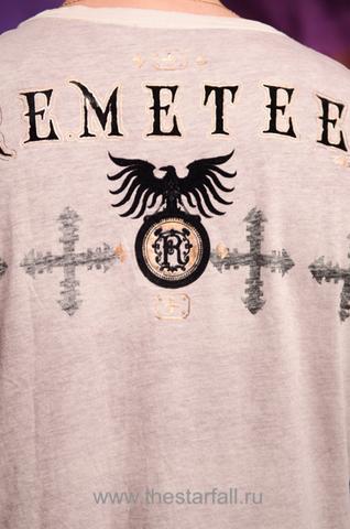 Футболка Remetee by Affliction RM163 принт на спине