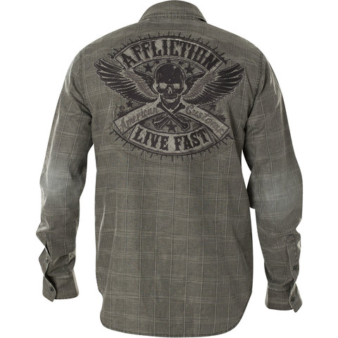 Affliction рубашка 110WV616