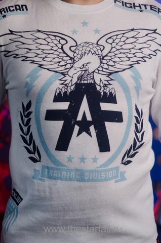 American Fighter   Пуловер мужской AF226745 от Affliction принт спереди орёл