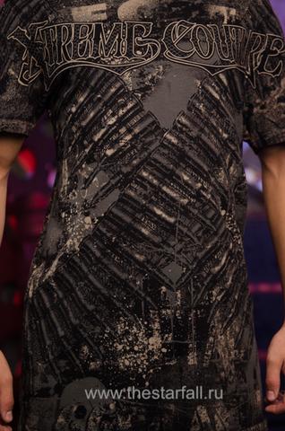 Футболка Xtreme Couture от Affliction Bandolier принт спереди