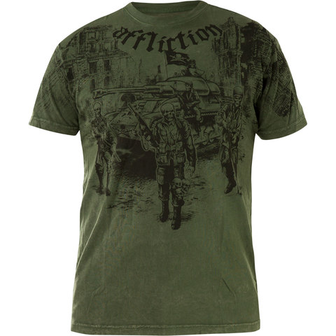 Футболка Affliction GHOST ARMY
