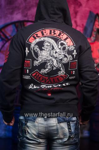 Rebel Spirit   Худи мужское FTZH141714 спина
