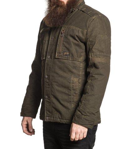 Куртка утепленная Affliction A320 левый бок