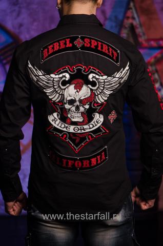 мужская рубашка rebel spirit LSW141642