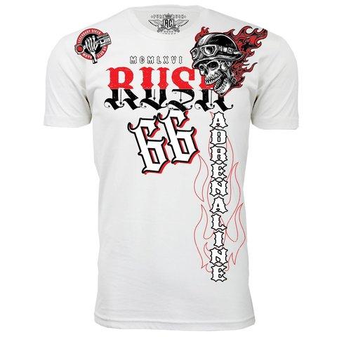 Футболка ADRENALINE White Rush Couture. Made in USA