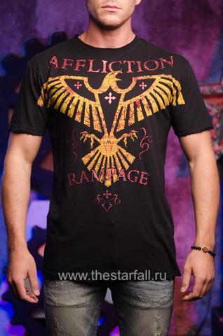 Affliction | Футболка мужская Rampage Army Signature Series A2954 перед
