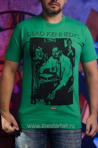 Купить футболку Supreme Dead Kennedys Too Drunk