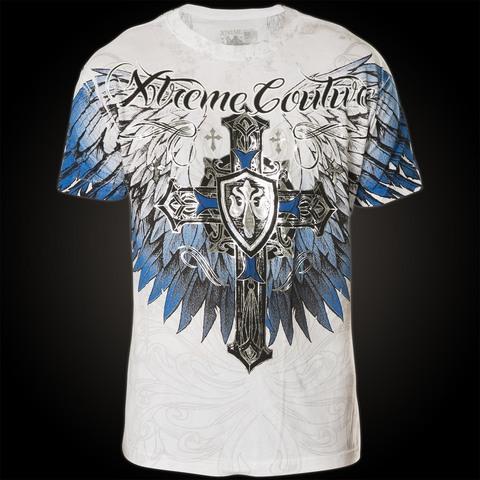 Футболка Tempest Xtreme Couture от Affliction белого цвета перед