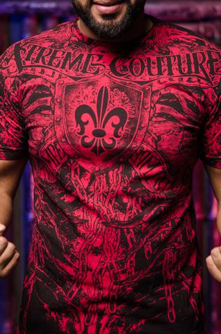Футболка Arthur's court Xtreme Couture от Affliction принт спереди