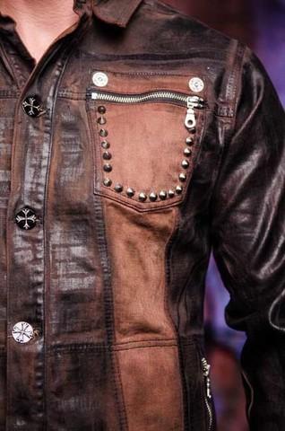 Куртка мужская джинсовая The Saints Sinphony TSJ012BRB накладной карман