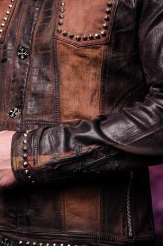 Куртка мужская джинсовая The Saints Sinphony TSJ012BRB рукав