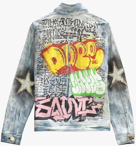 Куртка джинсовая The Saints Sinphony JACKET BLUE