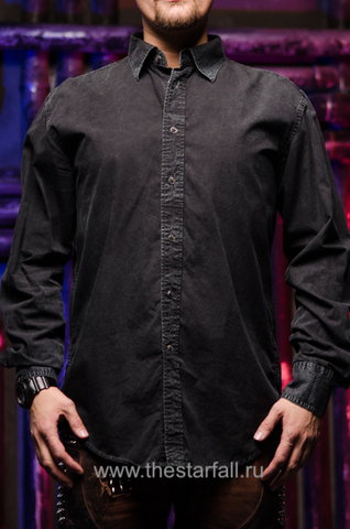 Affliction   Рубашка мужская A229097 перед