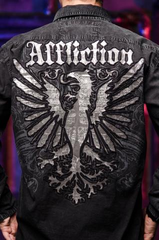 Affliction   Рубашка мужская A229097 спина