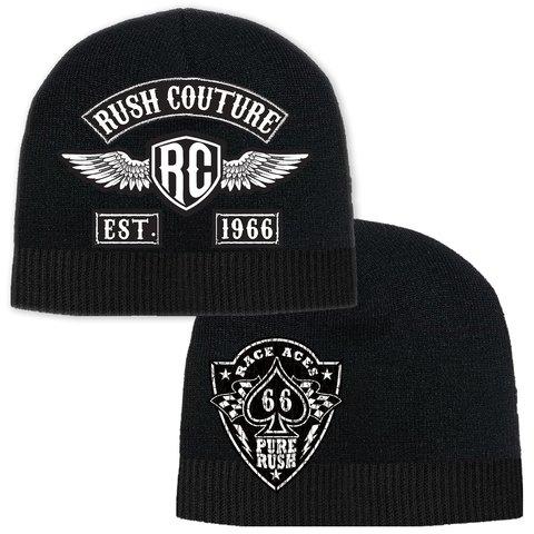 Шапка RUSH CULTURE BEANIE Black Rush Couture